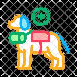 Dog Rescuer Icon