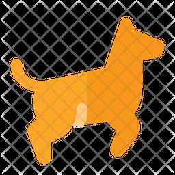 Dog Running Icon