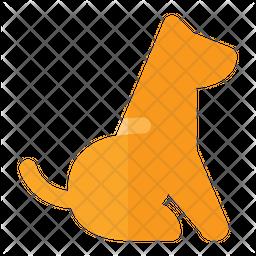 Dog Seating Icon