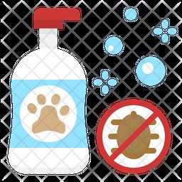 Dog Shampoo Flat Icon