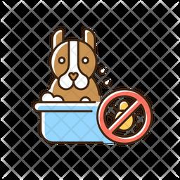 Dog washing Icon