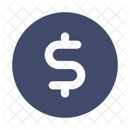 Dollar Icon Of Glyph Style Available In Svg Png Eps Ai Icon Fonts