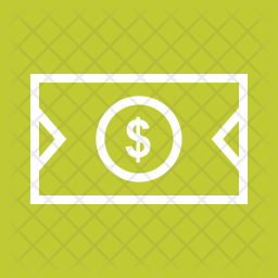 Dollar Line Icon