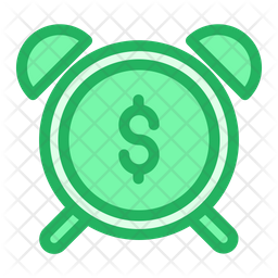 Dollar Alarm Icon
