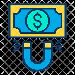 Dollar attract Icon