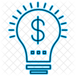 Dollar Bulb Icon Of Line Style Available In Svg Png Eps Ai Icon Fonts