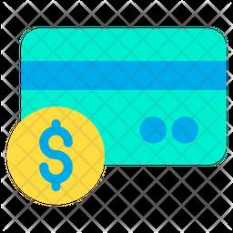 Dollar Credit Card Icon