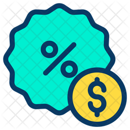 Dollar Discount Icon