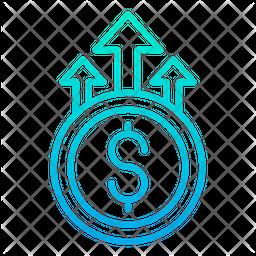 Dollar Grown Icon