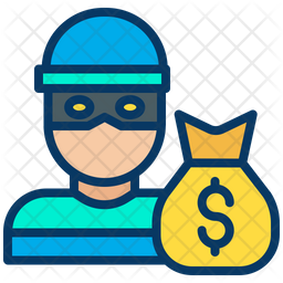 Dollar Robber Icon
