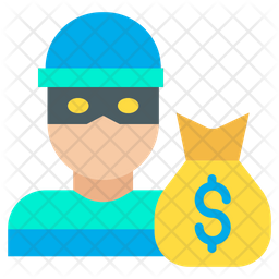 Dollar Robber Icon