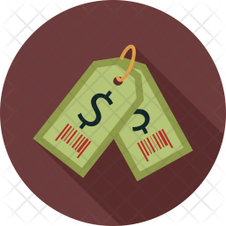 Dollar tags Icon