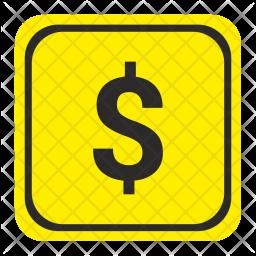 Dollar, Usd, Money, Road, Pointer, Exchange Icon