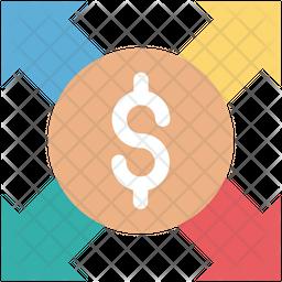 Dollar Valuation Icon