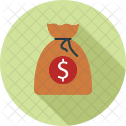 Dollars bag Icon
