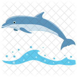 Dolphin Icon Of Flat Style Available In Svg Png Eps Ai Icon Fonts