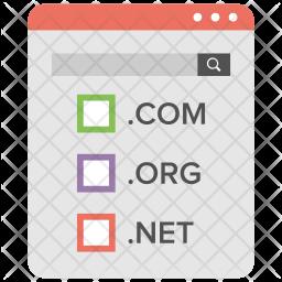 Domain Name System Icon