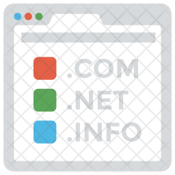 Domain Name System Icon