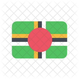 Dominica Flag Icon