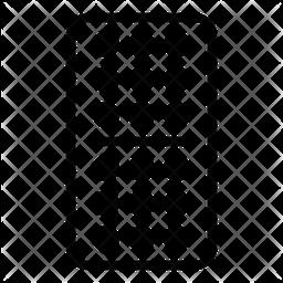 Domino Line Icon