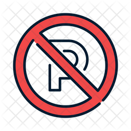 Dont parking Icon