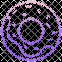 Donut Gradient Icon