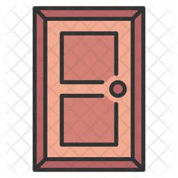 Door Icon Of Colored Outline Style Available In Svg Png Eps Ai Icon Fonts