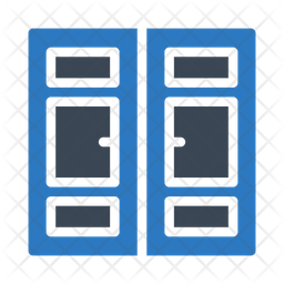 Door Icon Of Flat Style Available In Svg Png Eps Ai Icon Fonts