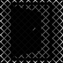 Door Glyph Icon