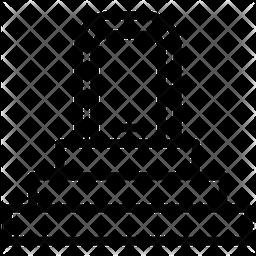 Door Front Line Icon