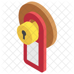 Door Label Icon