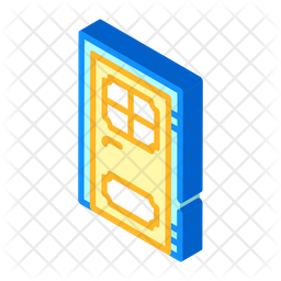 Door Renovation Icon