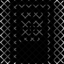 Door Shades Icon