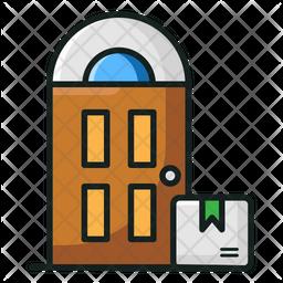 Doorstep Delivery Icon