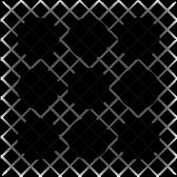 Dots Glyph Icon