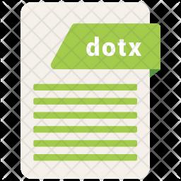 Dotx file Icon