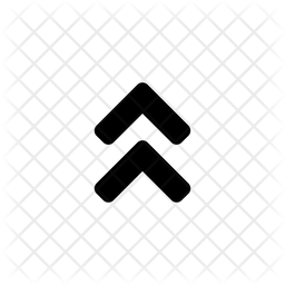 Double Chevron Glyph Icon