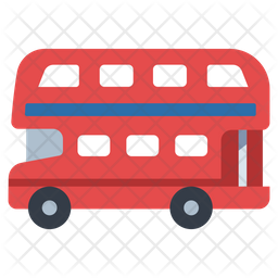 Double Decker Bus Icon Of Flat Style Available In Svg Png Eps Ai Icon Fonts