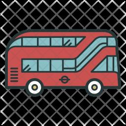 Doubledecker, Bus, London, Ride, Travel, Transport Icon