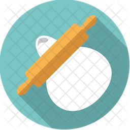 Rolling Pin Icon Of Flat Style Available In Svg Png Eps Ai Icon Fonts
