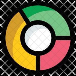 Doughnut chart Icon