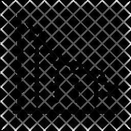 Down Graph Icon