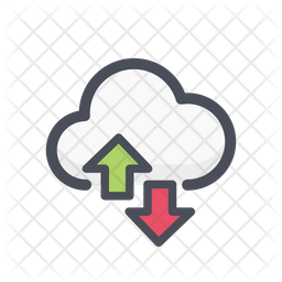 Download and upload cloud Icon