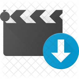 Download Clapper Flat Icon