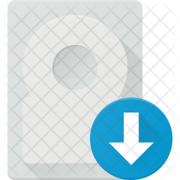 Download data from harddisk Icon