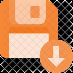 Download floppy Flat Icon