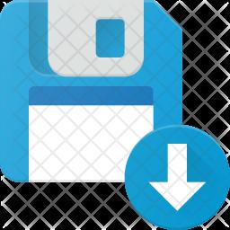 Download floppy data Icon