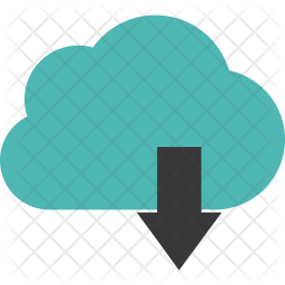 Download to cloud Icon