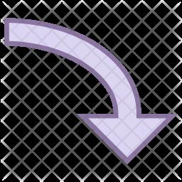 Downward arrow Icon