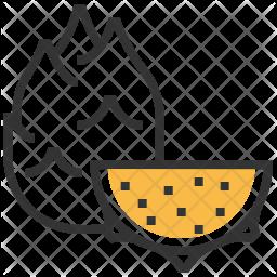 Dragonfruit Icon